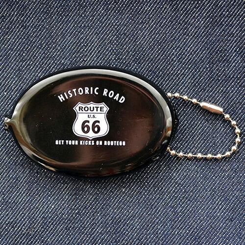 ラバーコインケース ルート66 Route66(ブラック) RCC-002