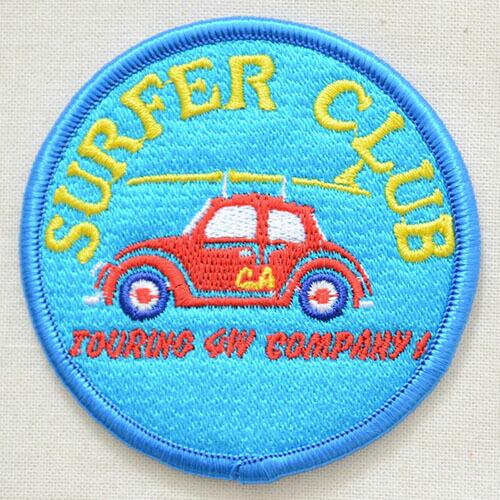 ワッペン Surfer Club サーファークラブ(車) MTW-092