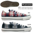 ●Converse all-stars on blurring check OX CONVERSE ALL STAR OMBRE CHECK OX Lady's sneakers converse ladies sneaker