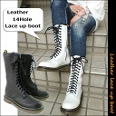 A leather-◆ to this price ◆ Dr. Martens of the topic type ☆ ladies 6119 boots 14 hole lace-up boots