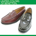 ●UNITED COLORS OF BENETTON 048[BET0480/BET0489] Lady's loafer 3E