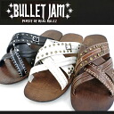 -BULLETJAM BJ-2201 multiple harnesses and men's sandals