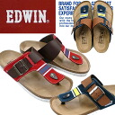 Men's EDWIN EW9123 and フットベンハー thong Sandals for men casual sandals-