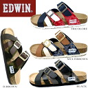 [EW9166] EDWIN Edwin Sandals men's casual Sandals comfort Sandals harnesses-