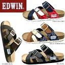 [EW9166] EDWIN Edwin Sandals men's casual Sandals comfort Sandals harnesses-