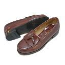 ★★□4515 HARUTA [Haruta] Lady's, 合皮 loafer 2E kilt tassel rotor