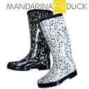 -Elegant design rain boots Womens MANDARINA DUCK U39B AJ original []