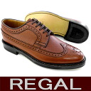 Legal business legal shoes REGAL Regal wing tip □ REGAL2235NA wingtip shoes for men business leather sole