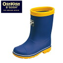 1 Romp C59 OSHKOSH supervised キッズレイン boots, rain shoes, rain boots, rain boots and Navy