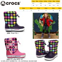Crocs kids boots long shoes Kitty rain boots crocs ガストブーツ circle colorful crocs Hello Kitty gust boot Hello Kitty colorful circle 12377 lightweight-