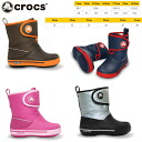 -Crocs boots kids children's winter boots clock band 2.5 ガストブーツ kids crocs crocband 2.5 12905 gust boot kids boys girls winter shoes / black / Navy / Brown / pink