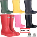 Hunter kids first rain boots regular article オリジナルクラシックウェリー HUNTER ORIGINAL KIDS FIRST CLASSIC WELLY hunter rain boots boots child service boy girl ●