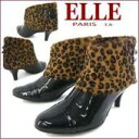 -ELLEEPL 2037 small side two belts with Bootie ankle boots [] [fs3gm]