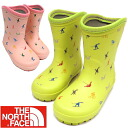 The north face THE NORTH FACE USAGI Kodomo Rain Boot rabbit children rain boots-[EG]