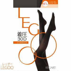 【30デニール】LEGOO-レッグー-パンティ部立体タイツ【着圧】