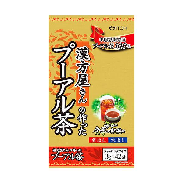 【2~4営業日で発送※取寄せ】漢方屋さんの作ったプーアル茶 42袋 井藤漢方製薬 ヘルスケア 貯まったヤマダポイント消化に