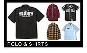 RUDIE'S(ルーディーズ)Polo & Shirts(ポロ & シャツ)