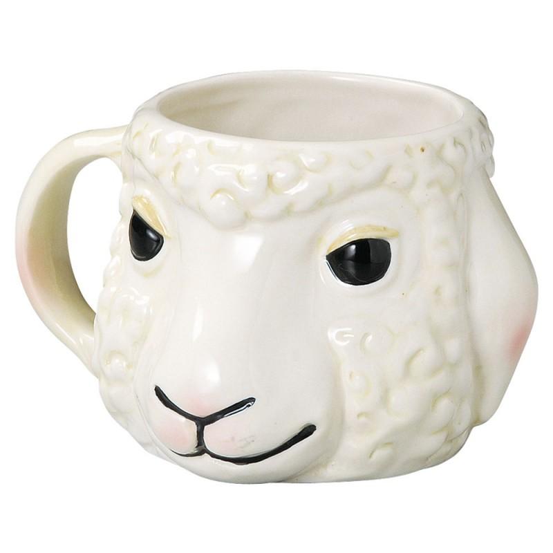 可爱的大杯子陶器动物杯子杯羊 sp 1624