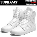 SUPRA SKYTOP 2 White Action