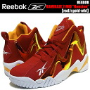 "REEBOK KAMIKAZE 2 MID ""Houston"" red/r.gold-wht"