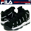 "FILA SPAGHETTI ""Brooklyn Nets"" ""Jerry Stackhouse"" blk/wht"