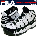 "FILA SPAGHETTI ""Brooklyn Nets"" ""Jerry Stackhouse"" wht/blk"