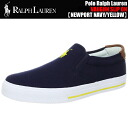 Polo Ralph Lauren VAUGHN SLIP ON NEWPORT NAVY/YELLOW