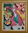 Woman in a purple rope Matisse