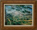 St. Victoria mountain Cezanne