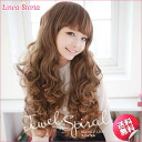 Made of heat-resistant フルウィッグ jewel I was tsunku spiral long ★ LSRV