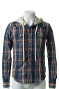 Please refer for the {sale price, method for purchase; }AKM エーケーエム WRANGLER denim collection check westerm hooded{-ACS}{HJ60}