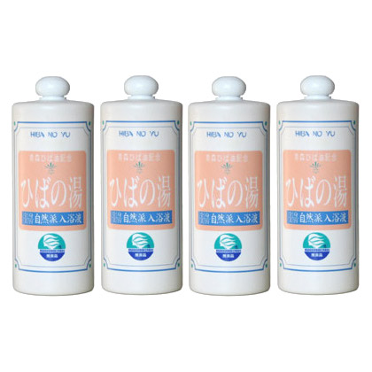 Hiba No Yu 1000cc 4set - Bath Water Mixes