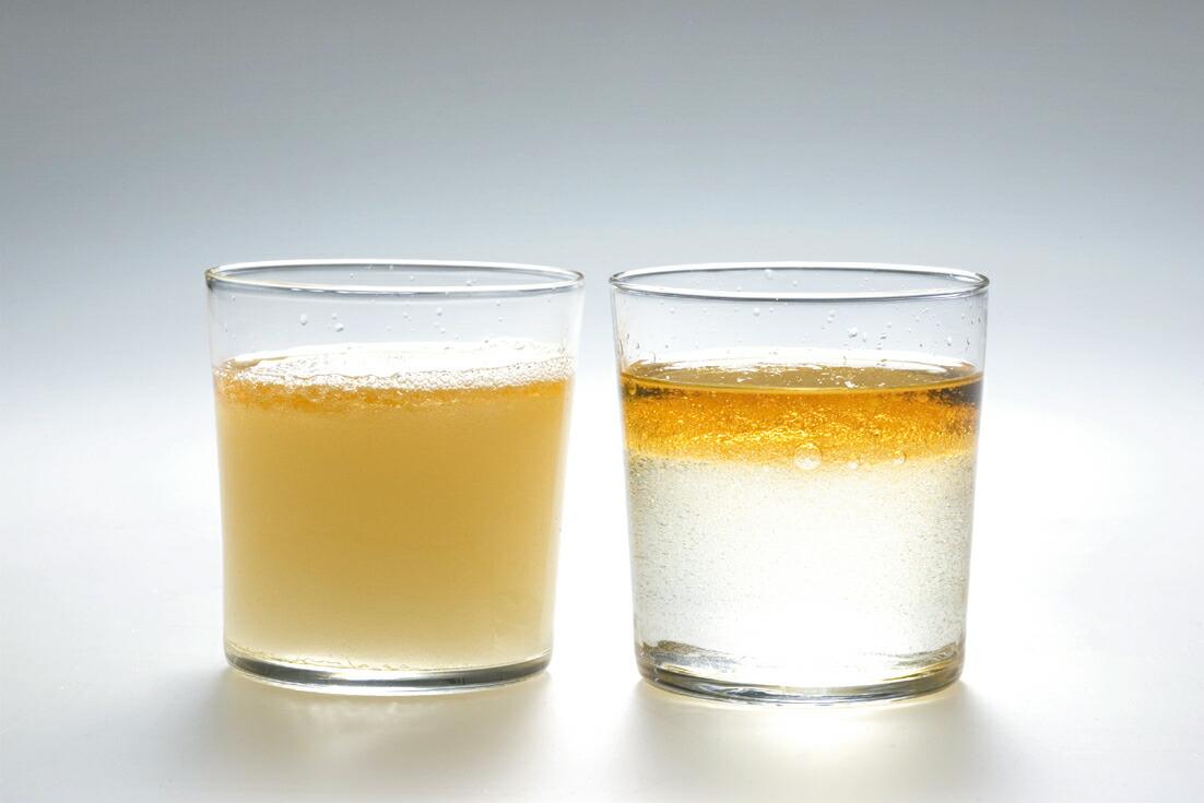 油実験 水と油は混ざらないという常識を覆して、この高還元水は瞬時に油と乳化しま... 【楽天市場