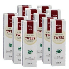 Oreno de bann TWEBS Medicated Dental Washes 33ml 10set