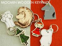 ムーミン,白樺製キーリング,APRILMAI,アプリルマイ,MOOMIN WOODEN KEYRING,ムーミングッズ,北欧フィンランド