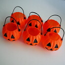Six mini-pumpkin cup sets