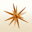 The Christmas: Christmas] bronze ornament Bethlehem Star small new product 2014 fall October late shipping! ★ all point up! Genre award thank you! ★