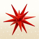 ★ all point up! ★ [Christmas: Christmas: small red stars ornament Bethlehem
