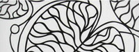 マリメッコ ボットナ ブラックホワイト