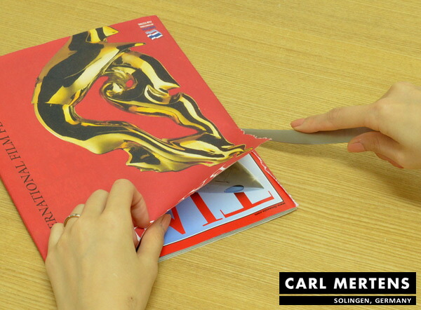 livingut rakuten global market carl mertens bafu paper knife letter opener made of stainless. Black Bedroom Furniture Sets. Home Design Ideas