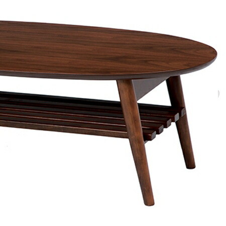 livingut  라쿠텐 일본: 접혀 다리 테이블 폴딩 로우 테이블 오벌 ...