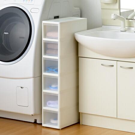 slim plastic storage drawers 1
