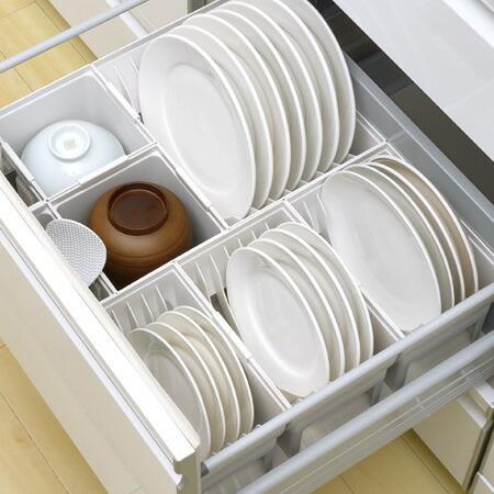 キッチン収納ケース ディッシュスタンド S