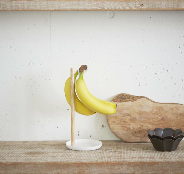 バナナスタンド トスカ tosca 1個掛け スチール製