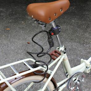 自転車の 自転車 荷台 カゴ : ... 自転車 カゴ・カギ・ライト