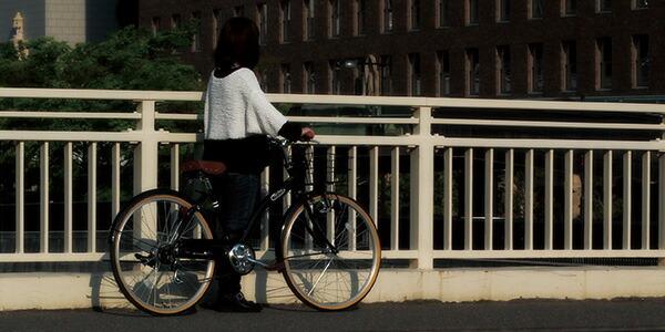 クロスバイク 26インチ 自転車 ...