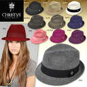 CHRISTYS ' HAT Christie's Crown series wool turu Fedora classic Hat Caps hats Hat CCS96 Hugh Jackman, beloved Emma Stone