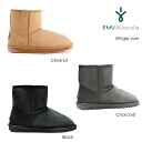 EMU EMU Sheepskin boots スティンガーミニ Stinger MINI Sheepskin boots black chocolate charcoal grey chestnut
