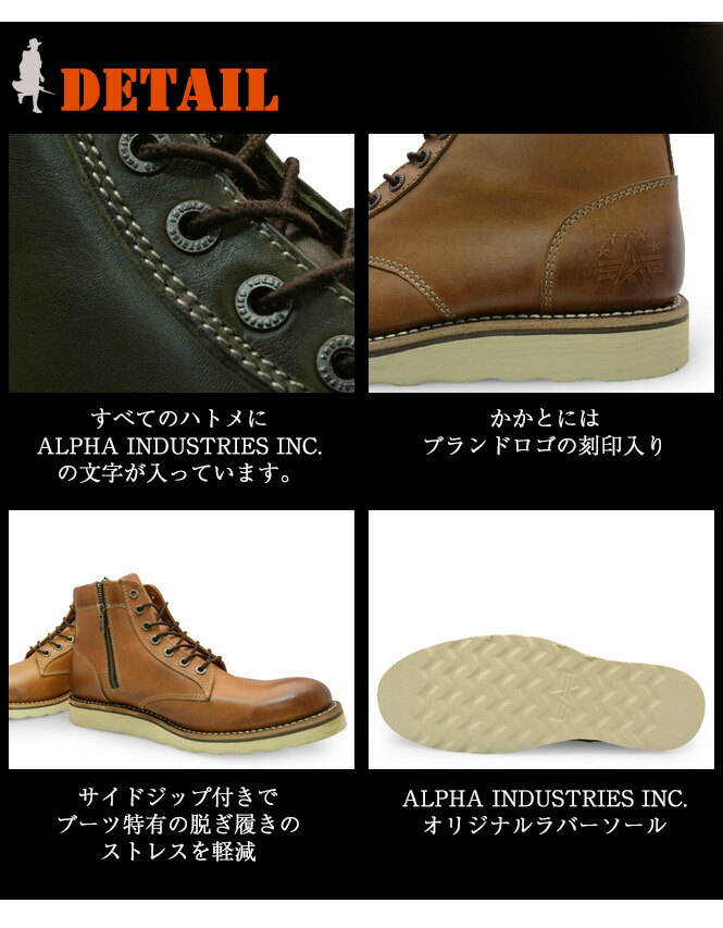 ALPHA INDUSTRIESINC.(����ե� ��������ȥ꡼��) �ܳ� ����֡��� �������Υǥ��ơ���