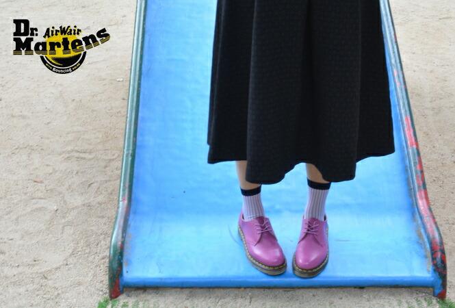 Dr.Martens ドクターマーチン レディース ブーツ パステルカラー シャーベットカラー 原色 蛍光 cancam cawaii blenda vivi 益若 きゃりーぱみゅぱみゅ